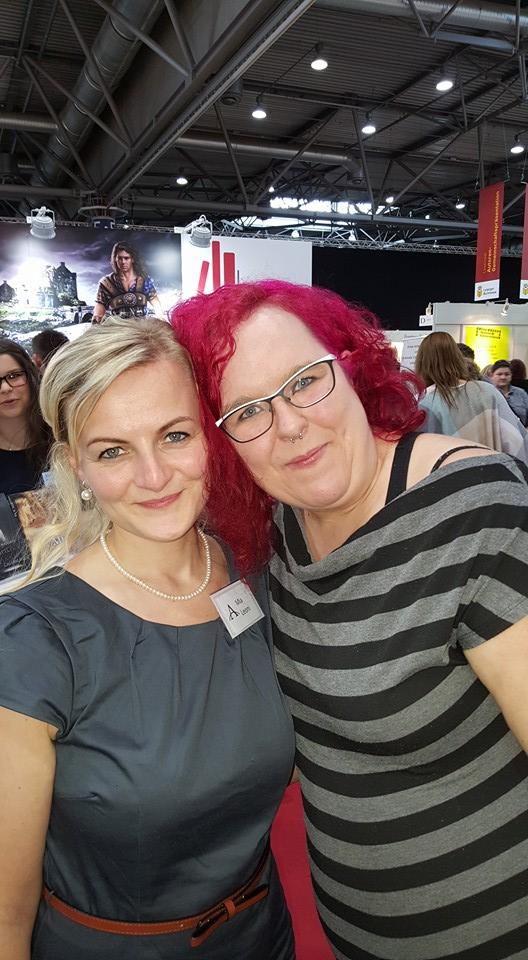 Nicole Schönberg und ich